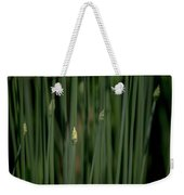 Garlic Chive Season Weekender Tote Bag