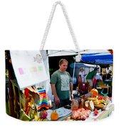 Garlic Festival Vendors Weekender Tote Bag