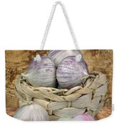 Garlic In The Basket Weekender Tote Bag