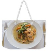 Garlic Prawns Weekender Tote Bag