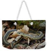 Garter Snake Weekender Tote Bag