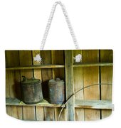Gas Cans Long Forgotten Weekender Tote Bag