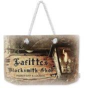Gas Light At Lafitte's Blacksmith Shop Weekender Tote Bag