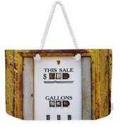 Gas Pump Weekender Tote Bag