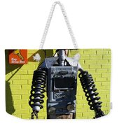 Gas Station Robot Weekender Tote Bag