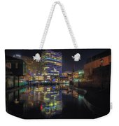 Gas Street Basin At Night Weekender Tote Bag