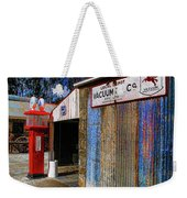 Gasoline And Oil Check Weekender Tote Bag
