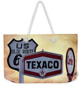 Gasoline Signs Weekender Tote Bag