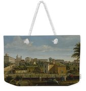 Gaspar Van Wittel  Called Vanvitelli Amersfoort 1652    1736   Rome  A View Of The Church Of Santi M Weekender Tote Bag