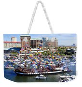 Gasparilla And Harbor Island Florida Weekender Tote Bag