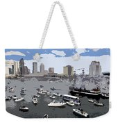 Gasparilla Invasion Work Number 3 Weekender Tote Bag