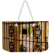 Gate - Alcazar Of Seville - Seville Spain Weekender Tote Bag