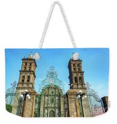 Gate And Cathedral Weekender Tote Bag