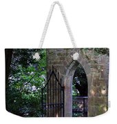 Gate At Cong Abbey Cong Ireland Weekender Tote Bag