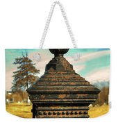 Gate Post Weekender Tote Bag