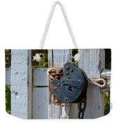 Gate Secured Weekender Tote Bag