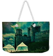 Gate Tower At Warwick Castle Weekender Tote Bag