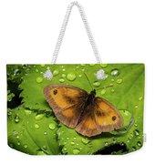 Gatekeeper Butterfly After The Rain. Weekender Tote Bag