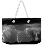 Gates To Heaven  Black And White Weekender Tote Bag