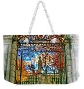 Gates To Knowledge Princeton University Weekender Tote Bag