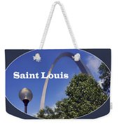 Gateway Arch - Saint Louis - Transparent Weekender Tote Bag