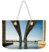 Gateway Bridge Brisbane Colour Weekender Tote Bag
