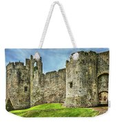 Gateway To Chepstow Castle Weekender Tote Bag