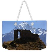 Mt Veronica And Inti Punku Sun Gate Weekender Tote Bag