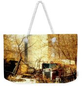 Gathered  Under The Silo Weekender Tote Bag