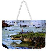 Gator Growl Weekender Tote Bag