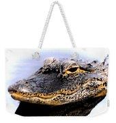 Gator Profile Reflection Weekender Tote Bag