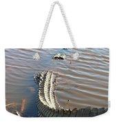 Gator Tail Weekender Tote Bag
