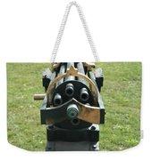 Gattling Gun Weekender Tote Bag