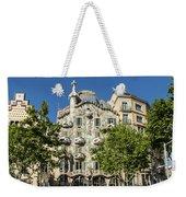 Casa Batillo - Gaudi Designed  - Barcelona Spain Weekender Tote Bag