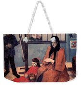 Gaugin: Family, 1889 Weekender Tote Bag