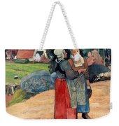 Gauguin: Breton Women, 1894 Weekender Tote Bag