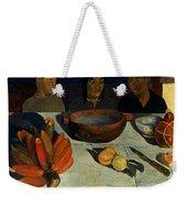 Gauguin: Meal, 1891 Weekender Tote Bag