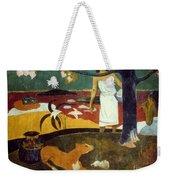 Gauguin: Pastoral, 19th C Weekender Tote Bag