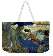 Gauguin: Pirogue, 19th C Weekender Tote Bag