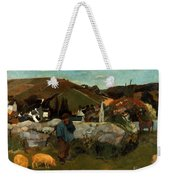 Gauguin: Swineherd, 1888 Weekender Tote Bag