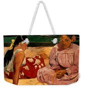 Gauguin: Tahiti Women, 1891 Weekender Tote Bag
