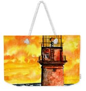 Gay Head Lighthouse Martha's Vineyard Weekender Tote Bag