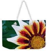 Gazania Flower Design Weekender Tote Bag
