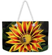 Gazania With Insect Weekender Tote Bag