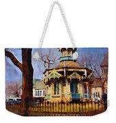 Gazebo And Tree Weekender Tote Bag