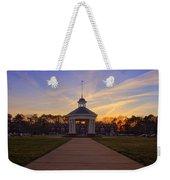 Gazebo At Sunset Weekender Tote Bag