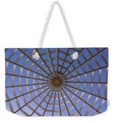 Gazebo Blue Sky Abstract Weekender Tote Bag
