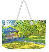 Gazebo On Onion Creek Weekender Tote Bag