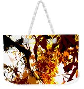 Gazing Into The Autumn Trees Weekender Tote Bag