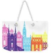 Gdansk Skyline Pop Weekender Tote Bag